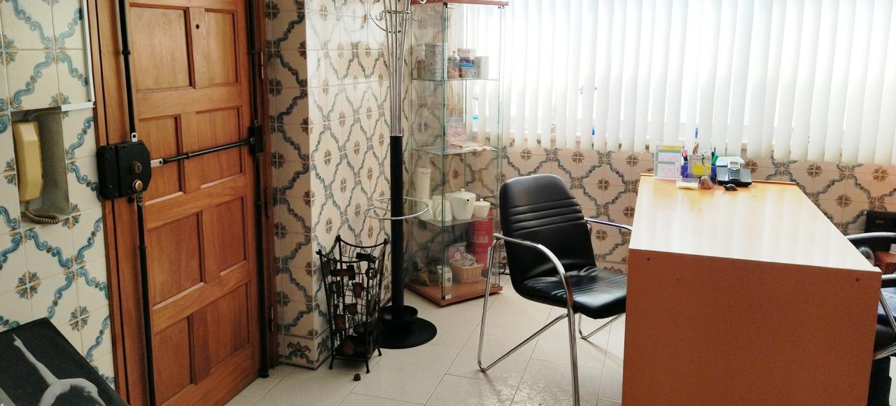 Entrada e sala de espera